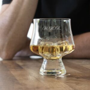 Personalised Snifter Whisky Glass