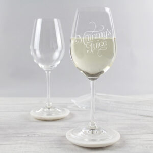 Engraved Wine Glass for Mother's Day - GiftSpider.co.uk