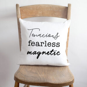 Personalised personality trait cushion - from GiftSpider